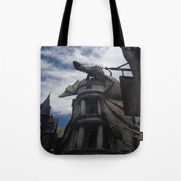 Diagon Alley Dragon Tote Bag