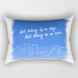 Hurricane Lyrics Rectangular Pillow