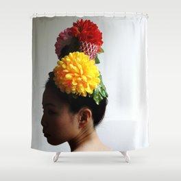Flower Head (2) Shower Curtain
