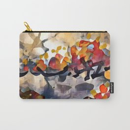 Splashes Of Color Red and Orange by CheyAnne Sexton Carry-All Pouch