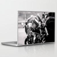 moto Laptop & iPad Skins featuring moto by Farkas B. Szabina