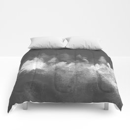 Chromatic Forest Nature Photography Comforters