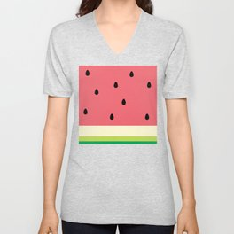 Watermelon Unisex V-Neck