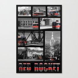 Red Rocket 28 Canvas Print