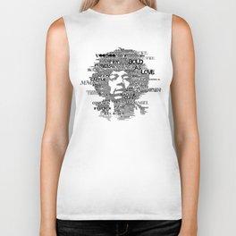 Hendrix B&W Biker Tank