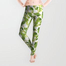 bananas pattern Leggings