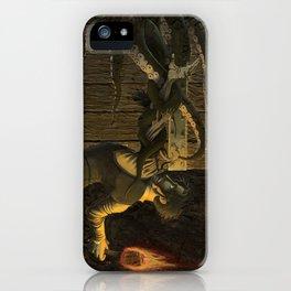 The Horror Beyond the Door iPhone Case