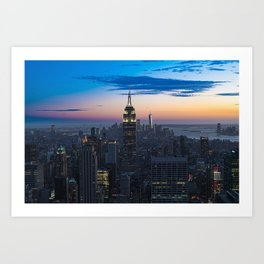 Empire State Building I Art Print