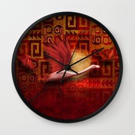 Pariguana II Wall Clock