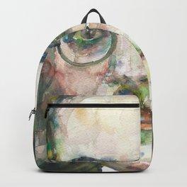 FERNANDO PESSOA - watercolor portrait.5 Backpack