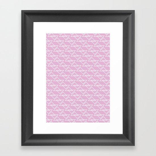 Zigzag II Framed Art Print