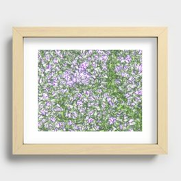 The world beyond your eyes Recessed Framed Print