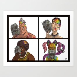 Authentically You Art Print