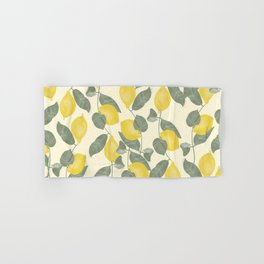 Citrus Pattern Hand & Bath Towel