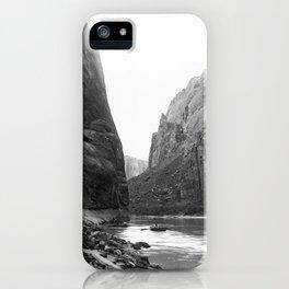A bend in Glen Canyon of the Colorado River, Grand Canyon, ca.1898 iPhone Case