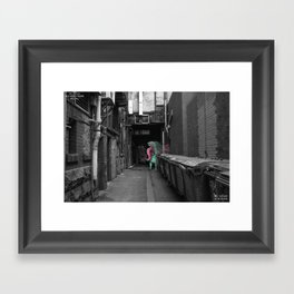 Unseen Monsters of Melbourne - Dimples McGee Framed Art Print