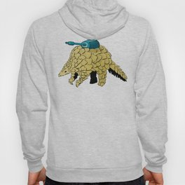 Armoured Pangolin Hoody