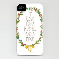 I love you and bushel and a peck Slim Case iPhone (4, 4s)