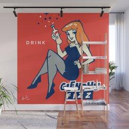 Poppin' Cherry Wall Mural
