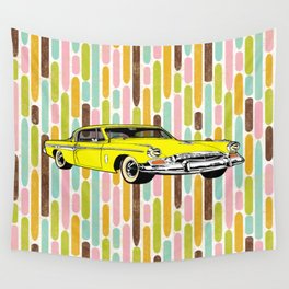unique car II Wall Tapestry