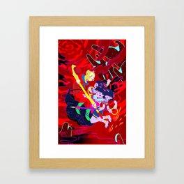 monkey king & nezha Framed Art Print