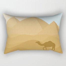Dromedary Deity Rectangular Pillow