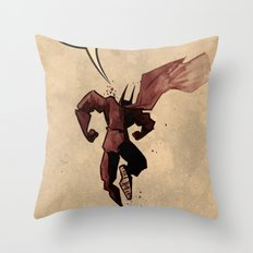 Action hero Throw Pillow