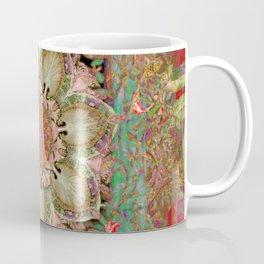 earth mandala-earth, mandala, quantum, energy, geometry, holy geometry, sacred geometry, meditation, breath,health, nature, power Coffee Mug
