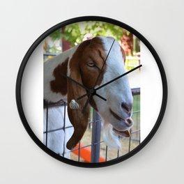 Beautiful  goat Wall Clock