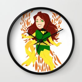 Fire and Life Incarnate Wall Clock