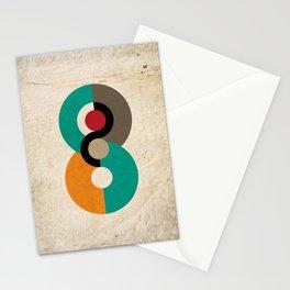 Geometric Scandinavian Art Stationery Cards