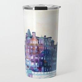 Winter in Edinburgh Travel Mug