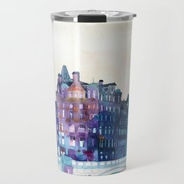 Winter in Edinburgh Travel Mug