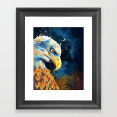 Eagle Eye Framed Art Print