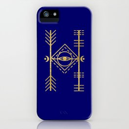 Sacred Geometry Letter H iPhone Case