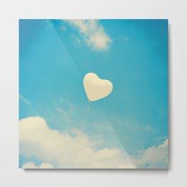 A Heart So White Metal Print