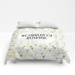 Currently Reading (Golden Triangles) Comforters
