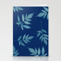 botanical Stationery Cards featuring Botanical by Jody Edwards Art