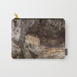 The Holy Cave of Covadonga Carry-All Pouch