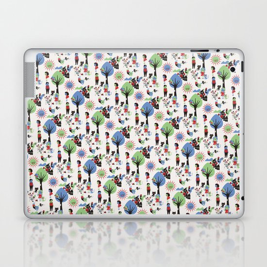 Beautiful day pattern Laptop & iPad Skin