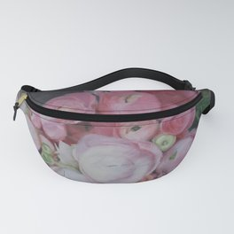 Pink Ranunculus Fanny Pack