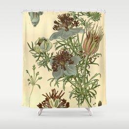 Spanish Fennel Flower Shower Curtain