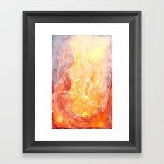 WATERCOLOURS Framed Art Print