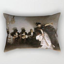 John Singer Sargent - El Jaleo Rectangular Pillow