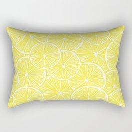 Lemon slices pattern design Rectangular Pillow