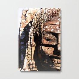 BAYON(4 faces) Metal Print