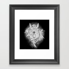 B34R D4RK51D3 (Bear Darkside) Framed Art Print