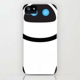 PIXAR CHARACTER POSTER - Eve - WALL-E iPhone Case