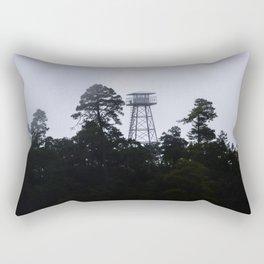 forest ranger tower Rectangular Pillow