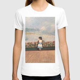 Francesca At Niagara Falls T-shirt